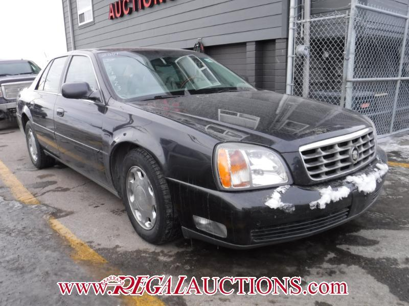 Used 2001 Cadillac DEVILLE DHS 4D SEDAN for Sale in Calgary, Alberta