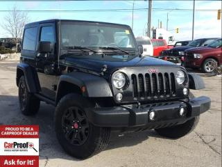 Used 2015 Jeep Wrangler SPORT WILLYS EDITION**BLUETOOTH**A/C** for sale in Mississauga, ON