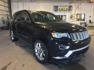 Used 2016 Jeep Grand Cherokee Summit|Navigation|Leather|DVD Player|Diesel for sale in Edmonton, AB