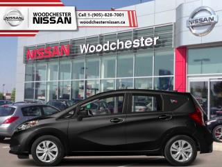 New 2018 Nissan Versa Note SV CVT  - Bluetooth -  Heated Seats - $132.75 B/W for sale in Mississauga, ON