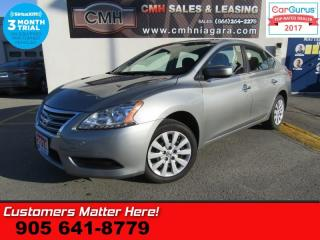 Used 2014 Nissan Sentra S  MANUAL POWER-WINDOWS/LOCKS (NO A/C) for sale in St Catharines, ON