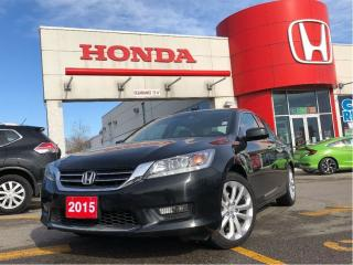 Used 2015 Honda Accord Sedan Touring, very very low kilometers for sale in Scarborough, ON