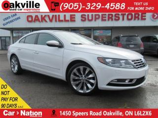 Used 2013 Volkswagen Passat CC Highline | LEATHER | SUNROOF | NAVI | B/'U CAM for sale in Oakville, ON