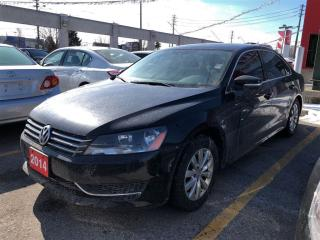 Used 2014 Volkswagen Passat Comfortline, rare in manual transmission for sale in Scarborough, ON