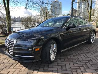 Used 2016 Audi A7 S LINE,LOCAL,ONE OWNER ,LOW KM, for sale in Vancouver, BC
