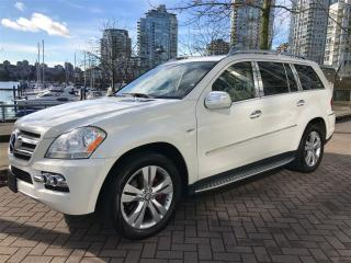 Used 2010 Mercedes-Benz GL-Class DIESEL, 7 PASS, NAV, DVD, BACK UP CAMERA, NO ACCID for sale in Vancouver, BC
