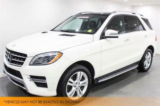 Used 2014 Mercedes-Benz ML-Class ML350 BlueTec 4MATIC 1 Owner N for sale in Winnipeg, MB