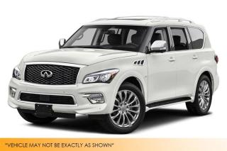 Used 2015 Infiniti QX80 AWD Tech PKG 8-Pass DVD+Nav+Ba for sale in Winnipeg, MB