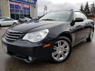 Used 2008 Chrysler Sebring Limited Convertible..IT'S BEAUTIFUL.!!! CALL US for sale in Mississauga, ON