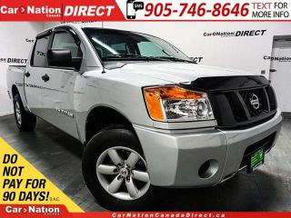 Used 2014 Nissan Titan S| 4X4| ONE PRICE INTEGRITY| for sale in Burlington, ON