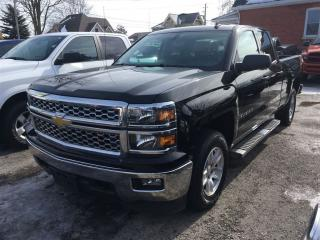 Used 2014 Chevrolet Silverado 1500 LT  4X4  DOUBLE  CAB for sale in Belmont, ON