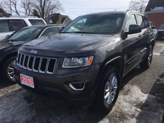 Used 2015 Jeep Grand Cherokee LAREDO  NAVIGATION. for sale in Belmont, ON
