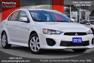 Used 2016 Mitsubishi Lancer ES CVT for sale in Pickering, ON