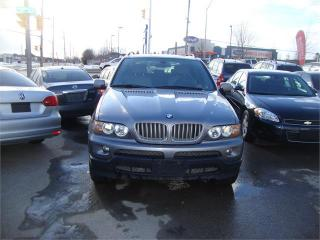 Used 2004 BMW X5 4.4i for sale in London, ON