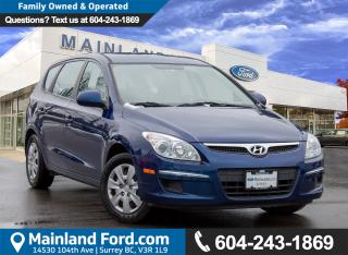 Used 2012 Hyundai Elantra Touring GL BC LOCAL, ACCIDENT FREE for sale in Surrey, BC