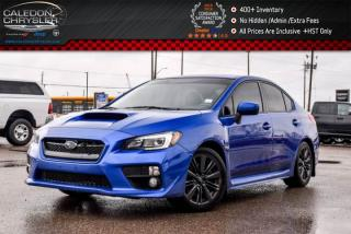Used 2015 Subaru WRX w/Sport-tech Pkg|AWD|Sunroof|Backup Cam|Heated Front seat|18