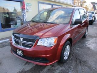 Used 2012 Dodge Grand Caravan FAMILY MOVING SE MODEL 7 PASSENGER 3.6L - V6.. BENCH.. REAR STOW-N-GO.. CD & AUX INPUT.. ECON-BOOST PACKAGE.. for sale in Bradford, ON