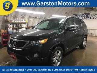 Used 2013 Kia Sorento EX V6 4WD*NAVIGATION*POWER PANORAMIC SUNROOF*LEATHER*PHONE CONNECT*BACK UP CAMERA*POWER HEATED/COOLED DRIVER SEAT*PUSH BUTTON TO START*POWER HEATED FR for sale in Cambridge, ON