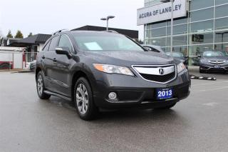 Used 2013 Acura RDX Tech Package 6sp at for sale in Langley, BC