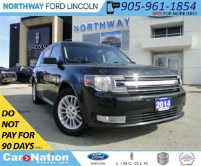 Used 2014 Ford Flex SEL | REAR CAMERA | HEATED SEATS | PWR TAILGATE | for sale in Brantford, ON