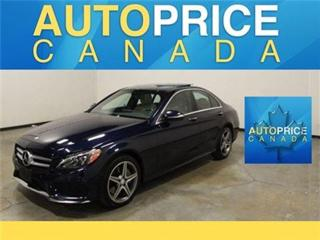 Used 2015 Mercedes-Benz C-Class C300 NAVI PANOROOF SPORT PKG for sale in Mississauga, ON