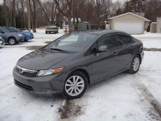 Used 2012 Honda Civic EX |SUNROOF|ALLOYS|5SPEED MANUAL|ONLY 85000KM for sale in Scarborough, ON