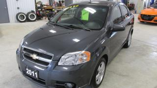 Used 2011 Chevrolet Aveo LT for sale in Chatsworth, ON