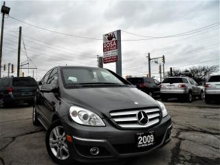 Used 2009 Mercedes-Benz B200 AUTO HCHBACK NO ACCIDENT NO RUST PL PW PM UAX A/C for sale in Oakville, ON
