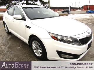 Used 2012 Kia Optima LX - 6 Speed Manual for sale in Woodbridge, ON