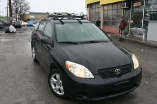Used 2006 Toyota Matrix XR for sale in Ottawa, ON