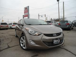 Used 2012 Hyundai Elantra Limited SUNROOF LEATHER 4 NEW TIRES BLUETOOTH for sale in Oakville, ON