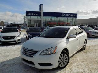 Used 2013 Nissan Sentra for sale in Edmonton, AB