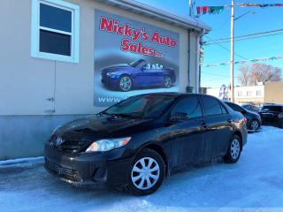 Used 2013 Toyota Corolla CE - AUTO - A\C - ACCIDENT FREE! for sale in Gloucester, ON