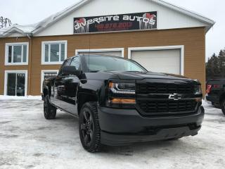 Used 2016 Chevrolet Silverado 1500 Camion de travail cabine double 143,5 po for sale in Neuville, QC