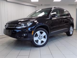 Used 2013 Volkswagen Tiguan 2.0 TSI Highline for sale in Sherbrooke, QC