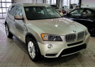 Used 2014 BMW X3 xDrive28i NAVIGATION for sale in Dorval, QC