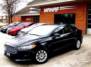 Used 2015 Ford Fusion S BackUp Cam Bluetooth CERTIFED for sale in Concord, ON