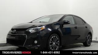 Used 2015 Toyota Corolla S  mags toit ouvrant bluetooth for sale in Trois-rivieres, QC
