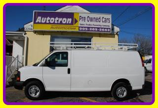 Used 2014 Chevrolet Express 2500 3/4 Ton Cargo Van, A/C, Roof Rack for sale in Woodbridge, ON