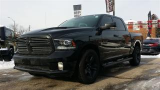 Used 2017 Dodge Ram 1500 Sport**NAV**BACK-UP CAM**HTD SEATS/WHEEL** for sale in Mississauga, ON