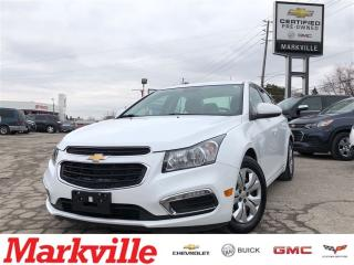Used 2016 Chevrolet Cruze 1LT- GM CERTIFIED PRE-OWNED - 1 OWNER TRADE for sale in Markham, ON