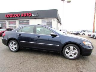 Used 2008 Acura RL SH AWD TECH PKG NAVIGATION CAMERA CERTIFIED 2YR for sale in Milton, ON