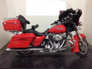 Used 2011 Harley-Davidson Street Glide FLHX Beer Box Low Miles 6649 for sale in St George Brant, ON