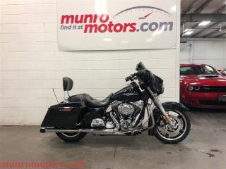 Used 2013 Harley-Davidson Street Glide FLHX 17715 miles Dark Blue Metallic for sale in St George Brant, ON