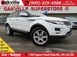 Used 2013 Land Rover Evoque AWD | LEATHER | B/U CAM | PANO ROOF | for sale in Oakville, ON