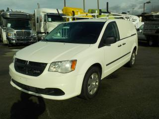 Used 2012 Dodge Ram Cargo Van with Shelving and Ladder Rack for sale in Burnaby, BC