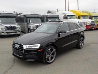 Used 2016 Audi Q3 S Line Prestige quattro for sale in Burnaby, BC