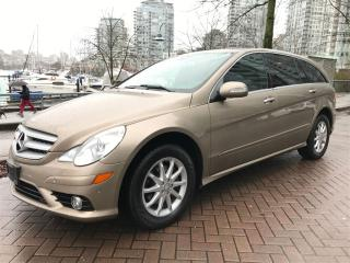 Used 2008 Mercedes-Benz R-Class DIESEL,7 PASS,NAV,BACK UP CAMERA,LOCAL,LOW KM for sale in Vancouver, BC
