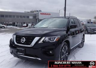 Used 2018 Nissan Pathfinder Platinum V6 4x4 at |NAVIGATION| 360 CAMERA| BLUETO for sale in Scarborough, ON