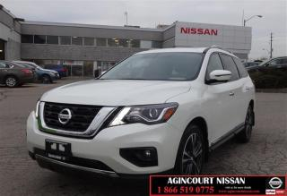 Used 2018 Nissan Pathfinder SL Premium V6 4x4 at DEMO|FULLY LOADED|UNIQUE TAN for sale in Scarborough, ON